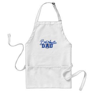 Baseball DAD blue Adult Apron