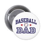 Baseball Dad Button