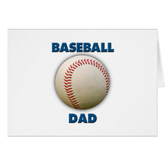 Baseball Dad Card