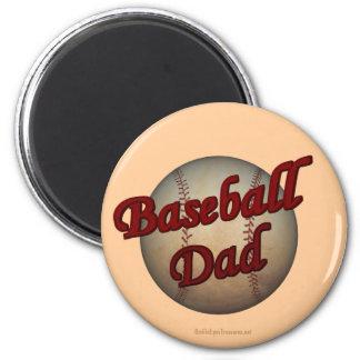 Baseball Dad Cute Magnet
