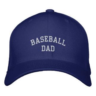 Baseball Dad Embroidered Baseball Cap