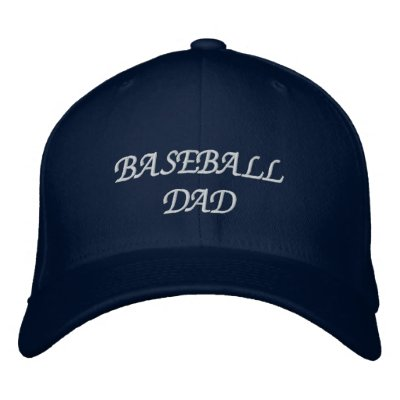 Baseball Dad Embroidered Hat