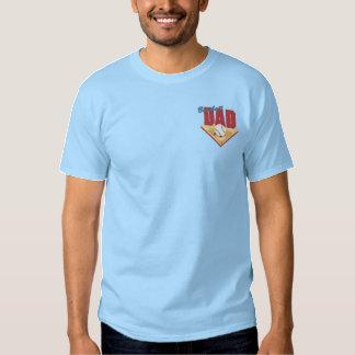 Baseball Dad Embroidered T-Shirt