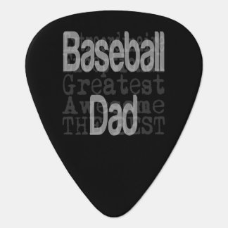 Baseball Dad Extraordinaire Guitar Pick