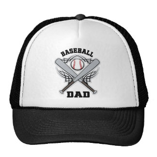 Baseball Dad Fathers Day Trucker Hat