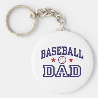 Baseball Dad Keychain