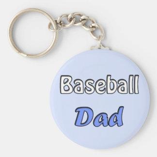 Baseball Dad Keychains
