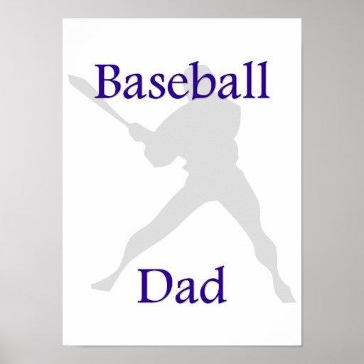 Baseball Dad Posters