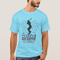 Baseball Dad Reppin' Victorville T-Shirt
