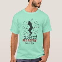 Baseball Dad Reppin' Warren T-Shirt