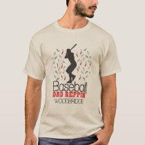 Baseball Dad Reppin' Woodbridge T-Shirt