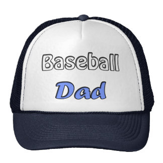 Baseball Dad Trucker Hat