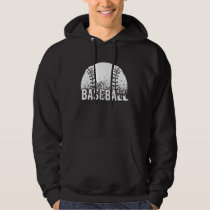 Baseball Dark Hoodie