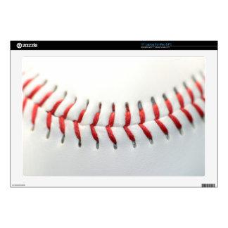 "Baseball Decal For 17"" Laptop"