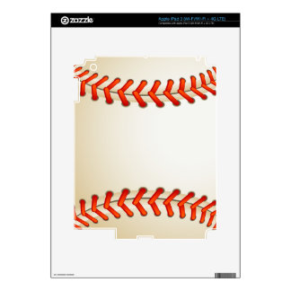 Baseball Decal For iPad 3