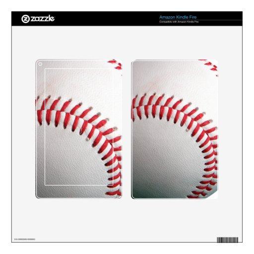 Baseball Decal For Kindle Fire