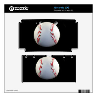 Baseball Decal For Nintendo 3DS