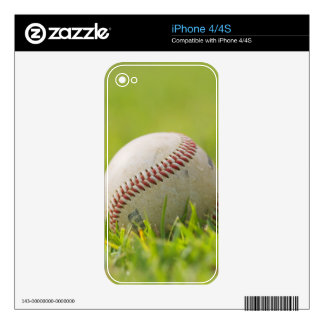 Baseball Decal For The iPhone 4