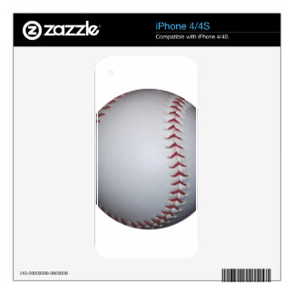 Baseball Decal For The iPhone 4S