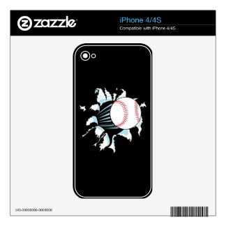 Baseball Decals For The iPhone 4