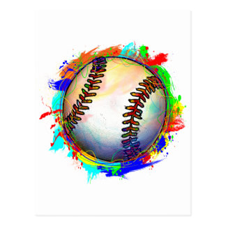 Baseball Design 2 Postcard