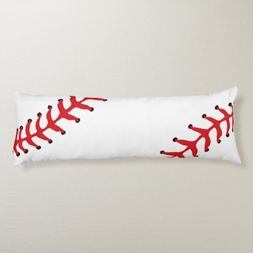Baseball Design Body Pillow