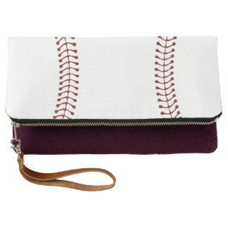 Baseball Design Clutch