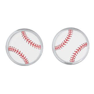 Baseball Design Cuff Links