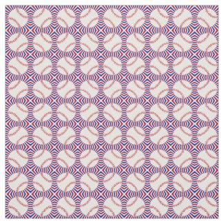 Baseball Design Fabric