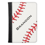 Baseball Design Folio Case