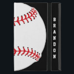 "Baseball Design iPad Air Case<br><div class=""desc"">Baseball Design iPad Air Case with customizable text.  For no text,  delete sample text and leave blank.  Background color can be changed by selecting customize,  edit and background.</div>"