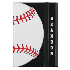 Baseball Design Ipad Air Case at Zazzle
