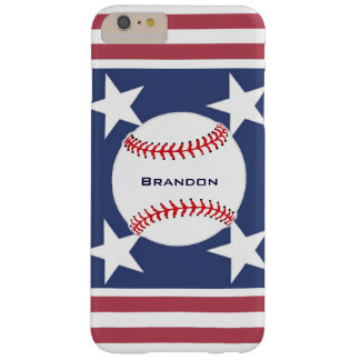 Baseball Design iPhone 6 Plus Case