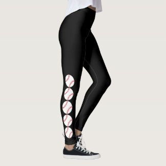 Baseball Design Leggings