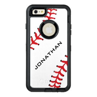 Baseball Design Otter Box OtterBox Defender iPhone Case