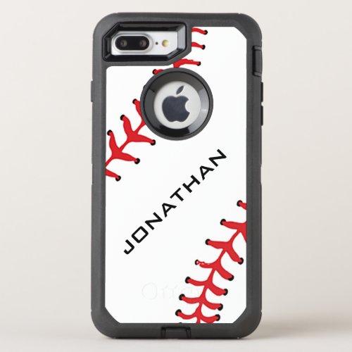 Baseball Design Otter Box Phone Case