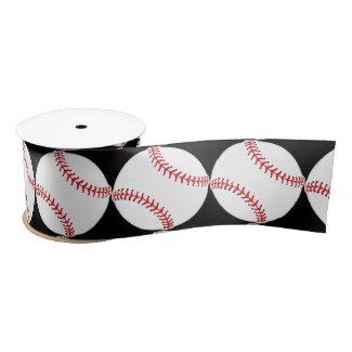 Baseball Design Ribbon