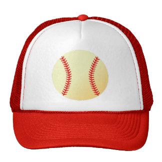 Baseball Design Trucker Hat