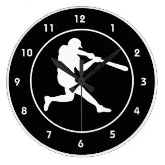 Baseball Design Wall Clock