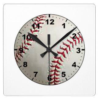 """Baseball"" design wall clocks"