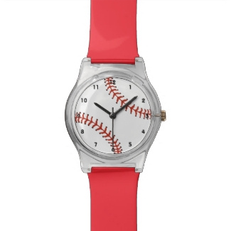 Baseball Design Watch
