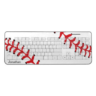 Baseball Design Wireless Keyboard