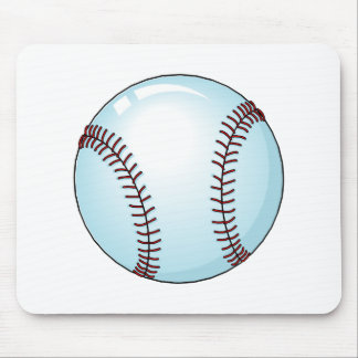 Baseball (Detailed) Mouse Pad