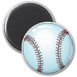 Baseball Detailed Refrigerator Magnets