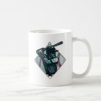 Baseball Diamond Batter Coffee Mug