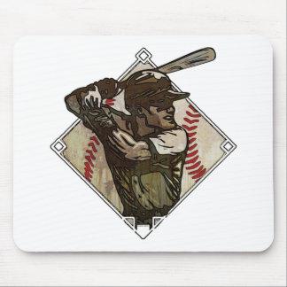 Baseball Diamond Batter Mouse Pads