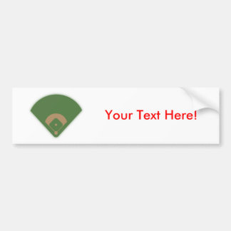 Baseball Diamond: Bumper Sticker