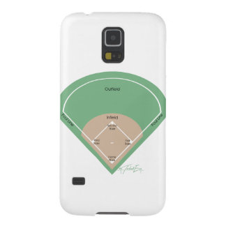 'Baseball Diamond' Galaxy S5 Covers