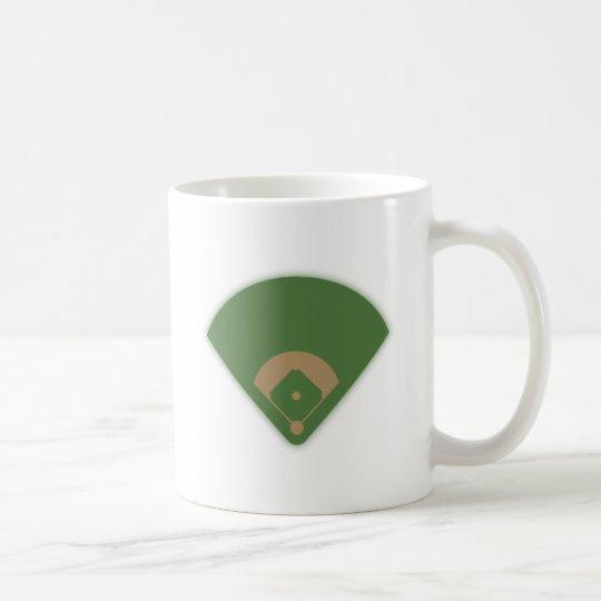 Baseball Diamond: Coffee Mug