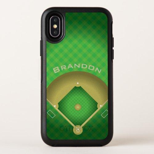 Baseball Diamond Design Phone Case